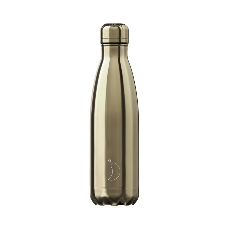 Garrafa Chrome Gold | 500 Ml