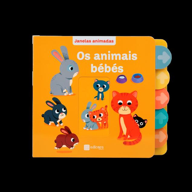 Janelas Animadas – Animais Bebe