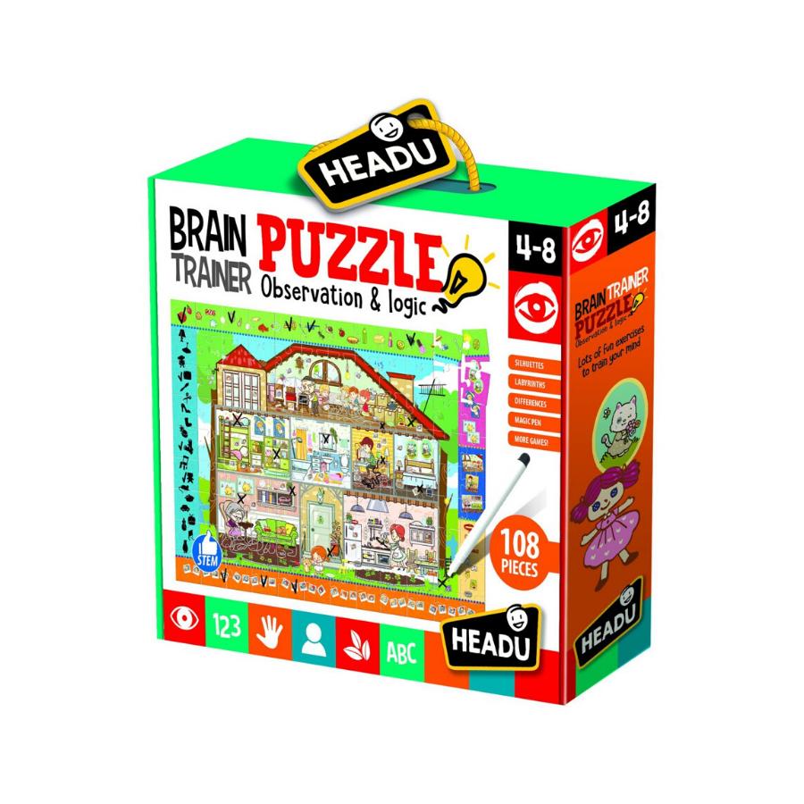 Brain Trainer Puzzle