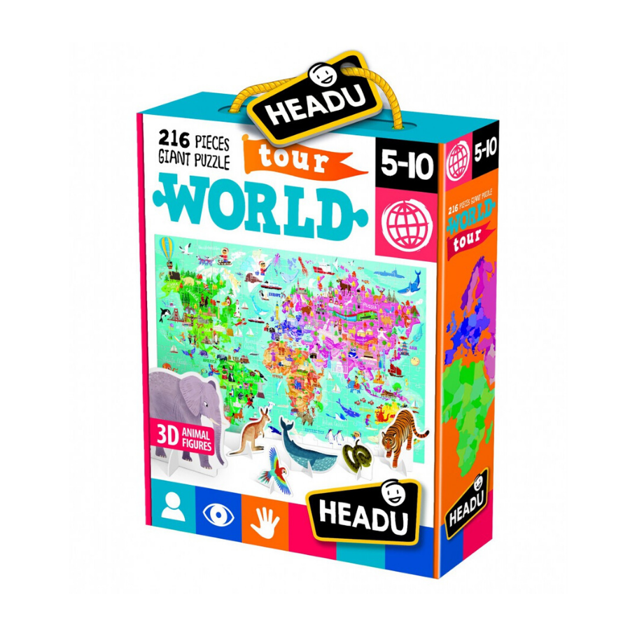 World Tour Giant Puzzle