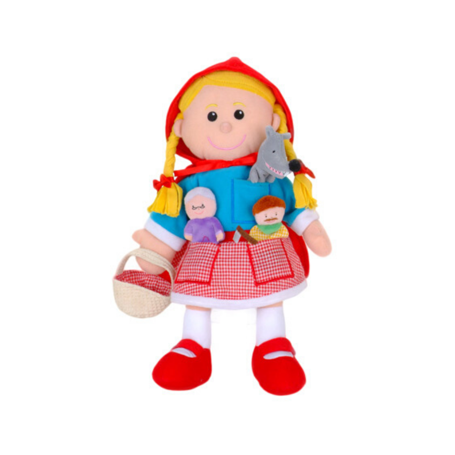 Fantoche História   Capuchinho Vermelho