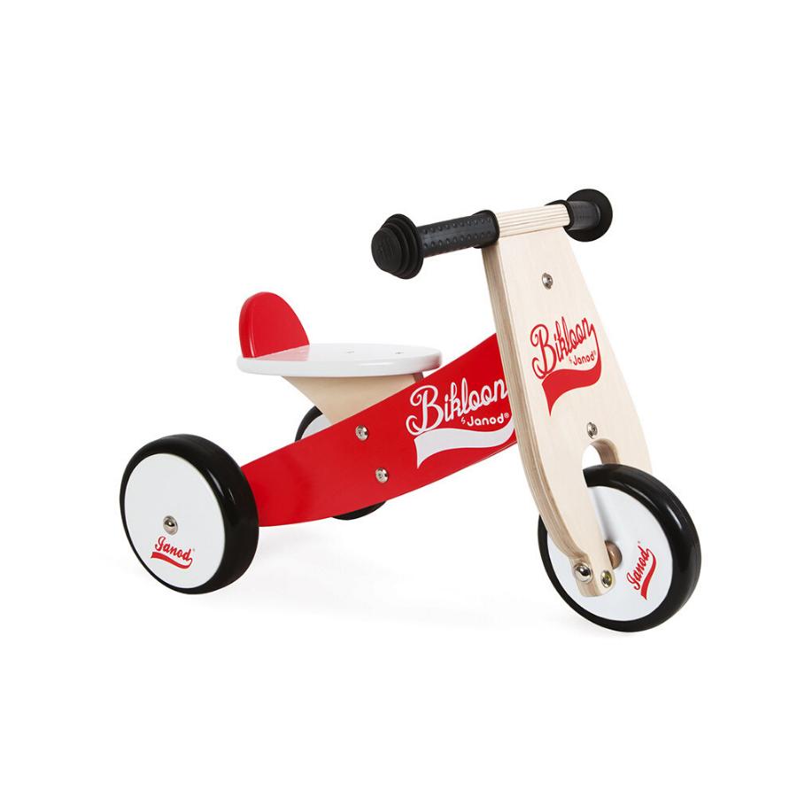 Bikloon | Bicicleta De Madeira Vermelha