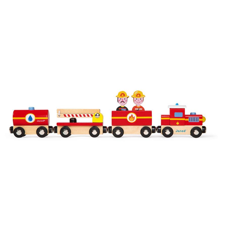 Comboio De Madeira | Bombeiros
