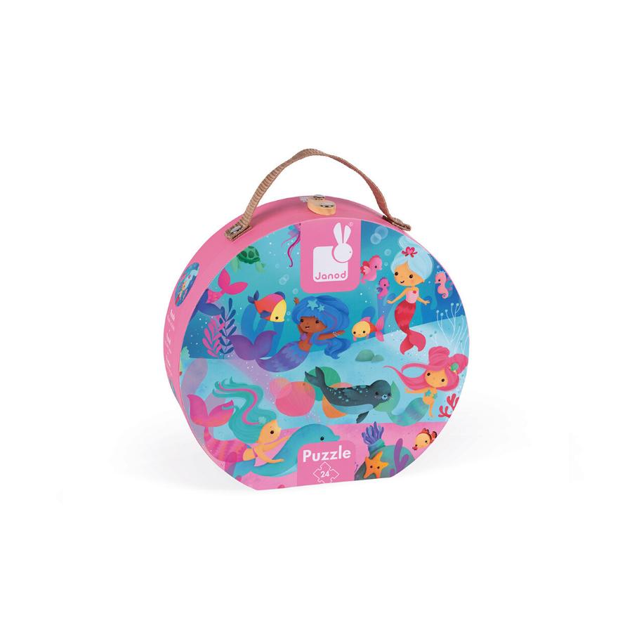 Hat Box Puzzle 24 Peças | Sereias