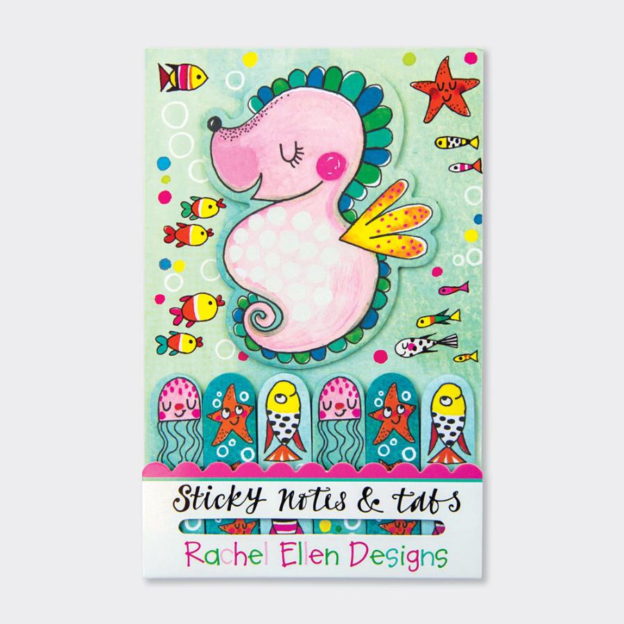 140 Sticky Notes & Tabs | Cavalo Marinho