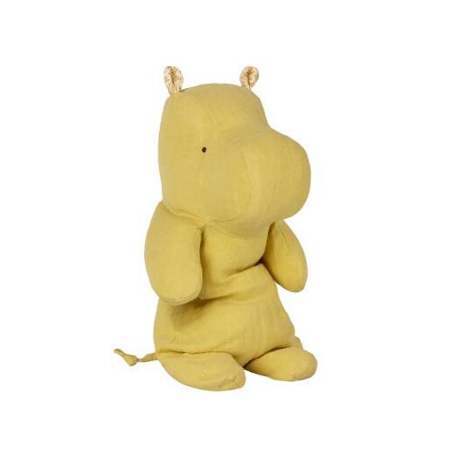 Safari Friends | Hippo | Medium | Lime Yellow
