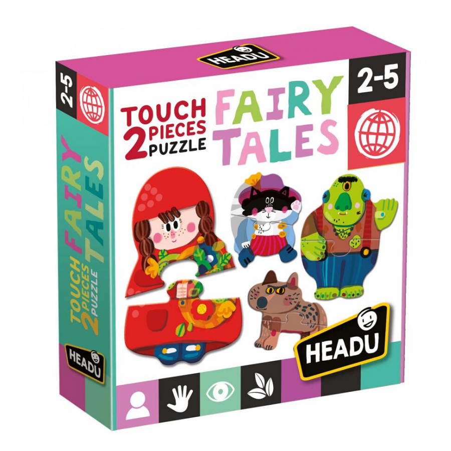 2 Pieces Touch Puzzle | Fairy Tale