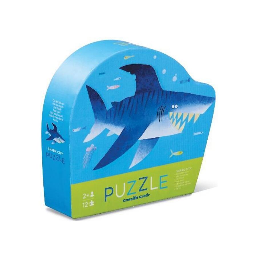 Mini Puzzle 12 Peças | Shark