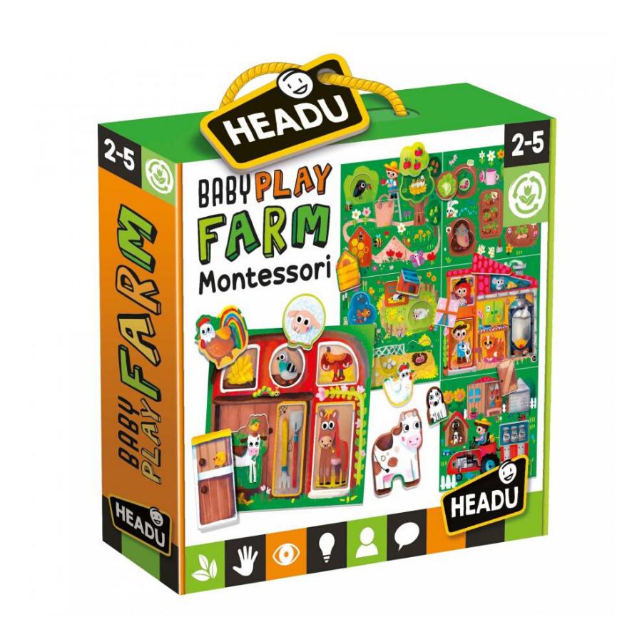 Puzzle Baby Play   Farm   Montessori