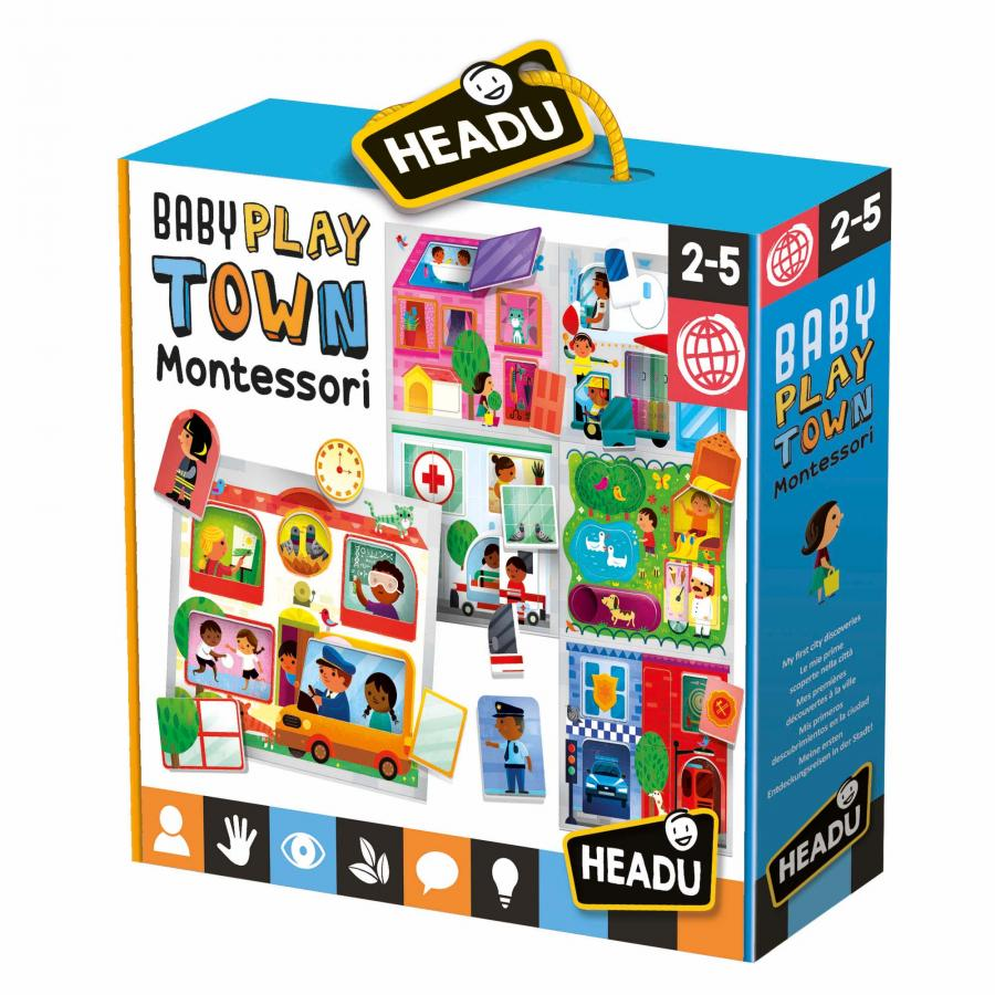 Puzzle Baby Play   Town   Montessori