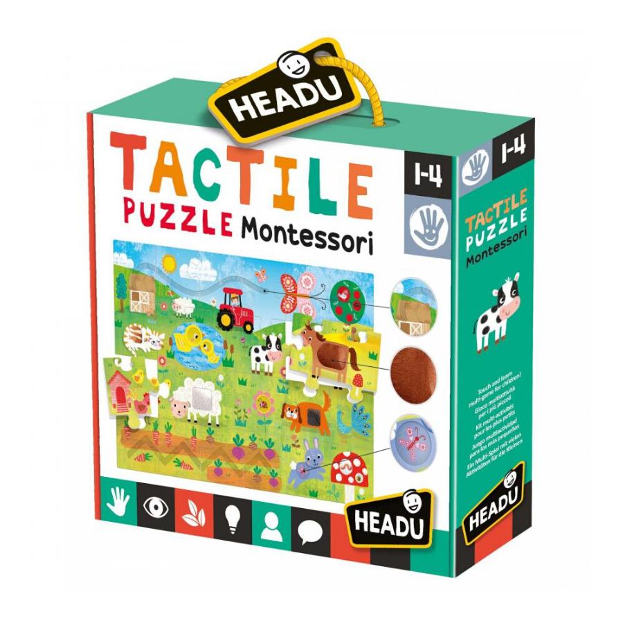 Tactile Puzzle   Montessori