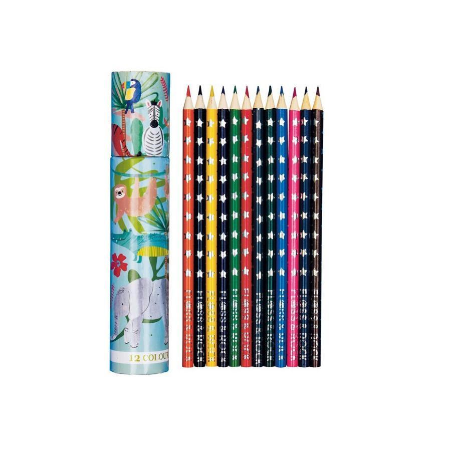 Tubo De 12 Lápis | Sereias
