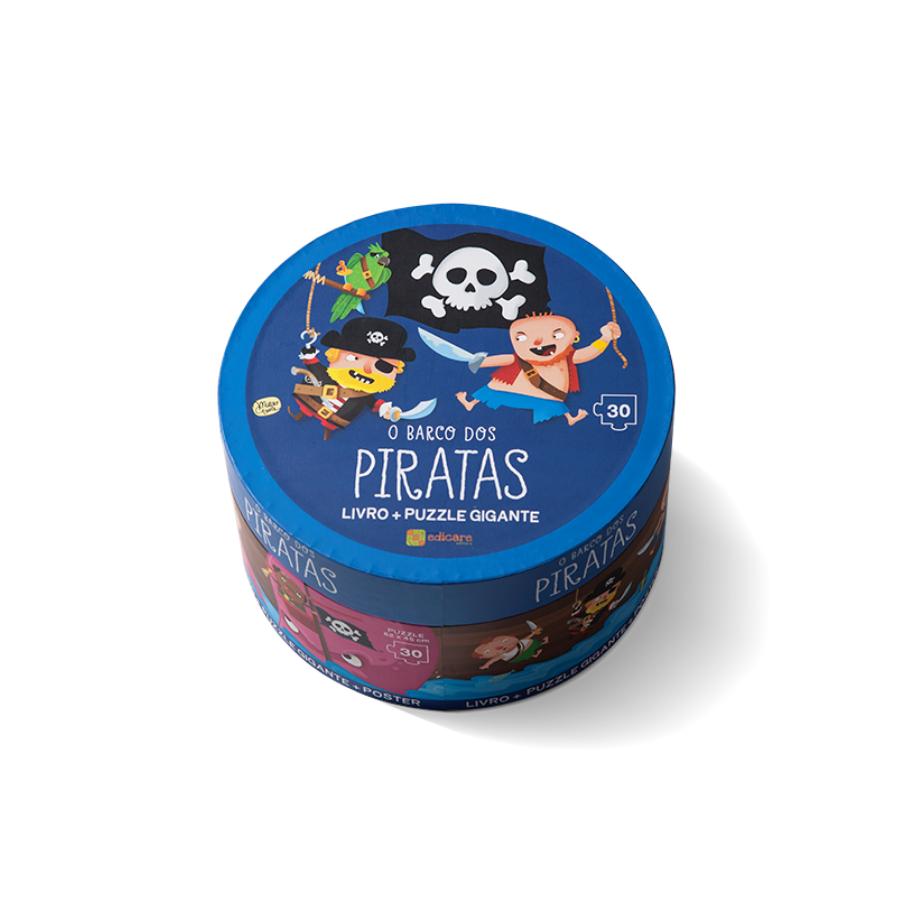 Puzzle Gigante | Barco Dos Piratas