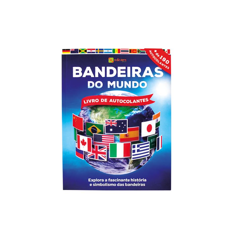 Bandeiras Do Mundo | Livro De Autocolantes