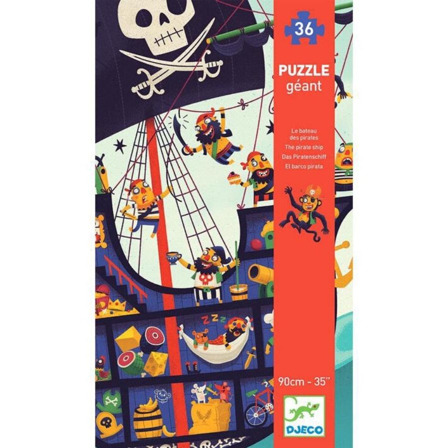 Puzzle Gigante 36 Peças | Piratas