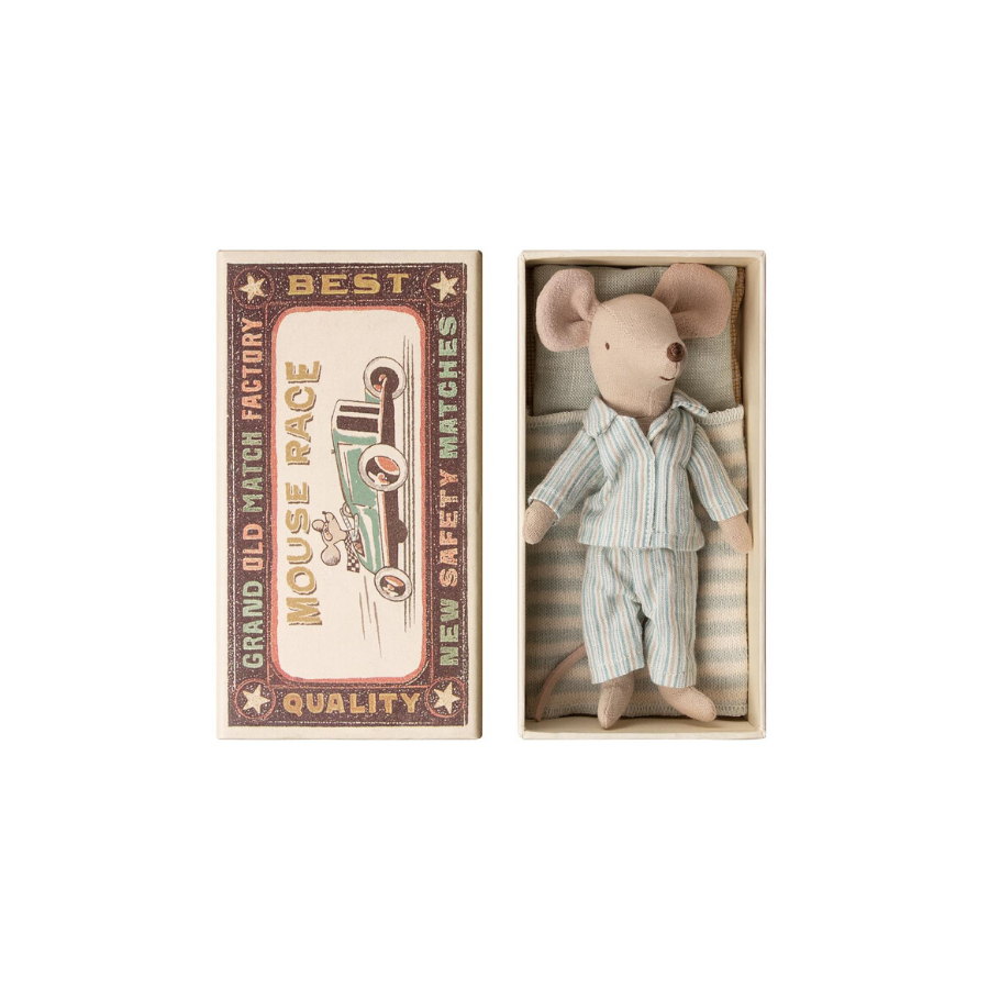 Big Brother Mouse In Matchbox | Stripes Pyjamas