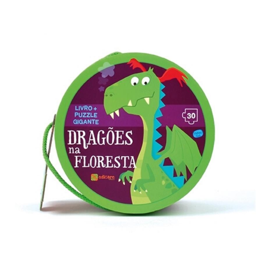 Puzzle Gigante | Dragões Na Floresta