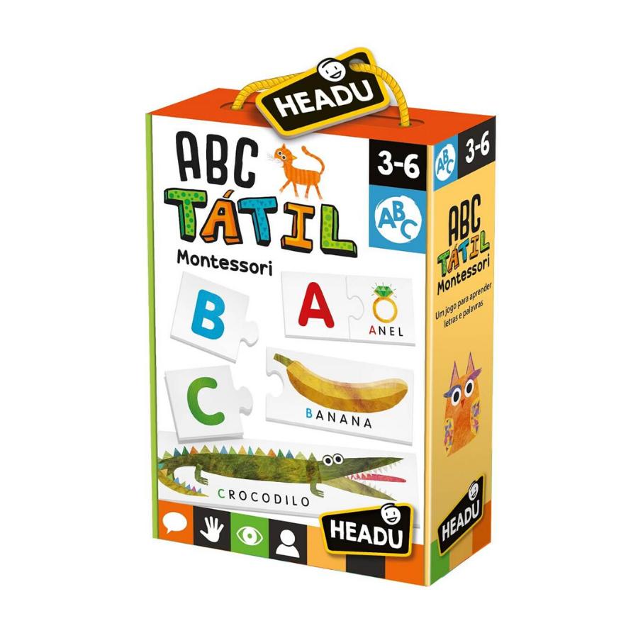 ABC Tátil | Montessori