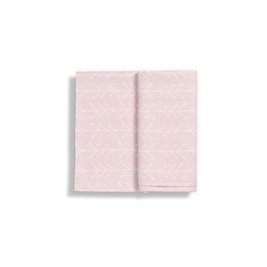 Pack 3 Fraldas | Rosa Nórdico