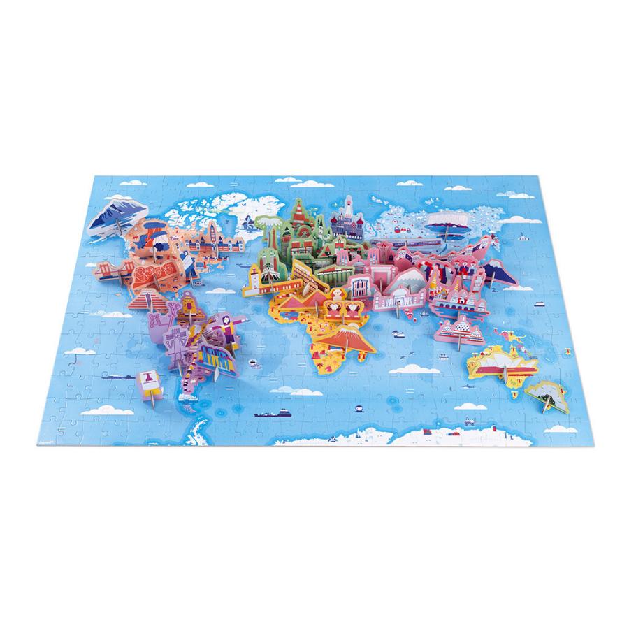 Puzzle Educativo | 350 Peças | As Curiosidades Do Mundo