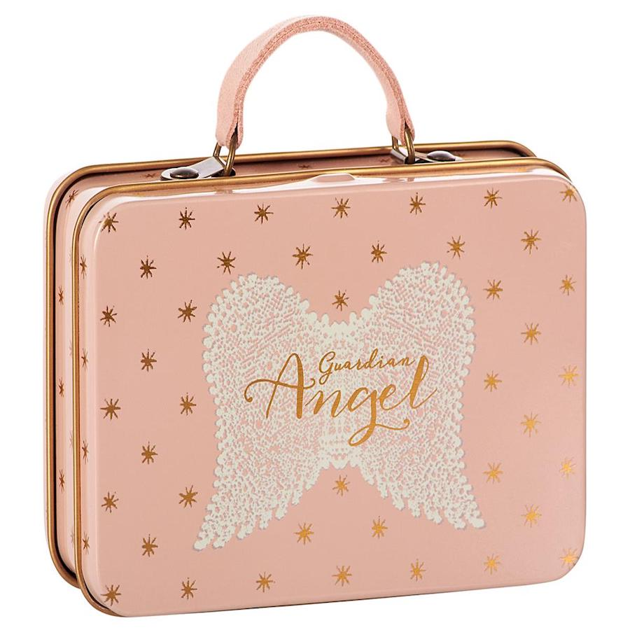 MAILEG | Metal Suitcase | Rose | Gold Dots