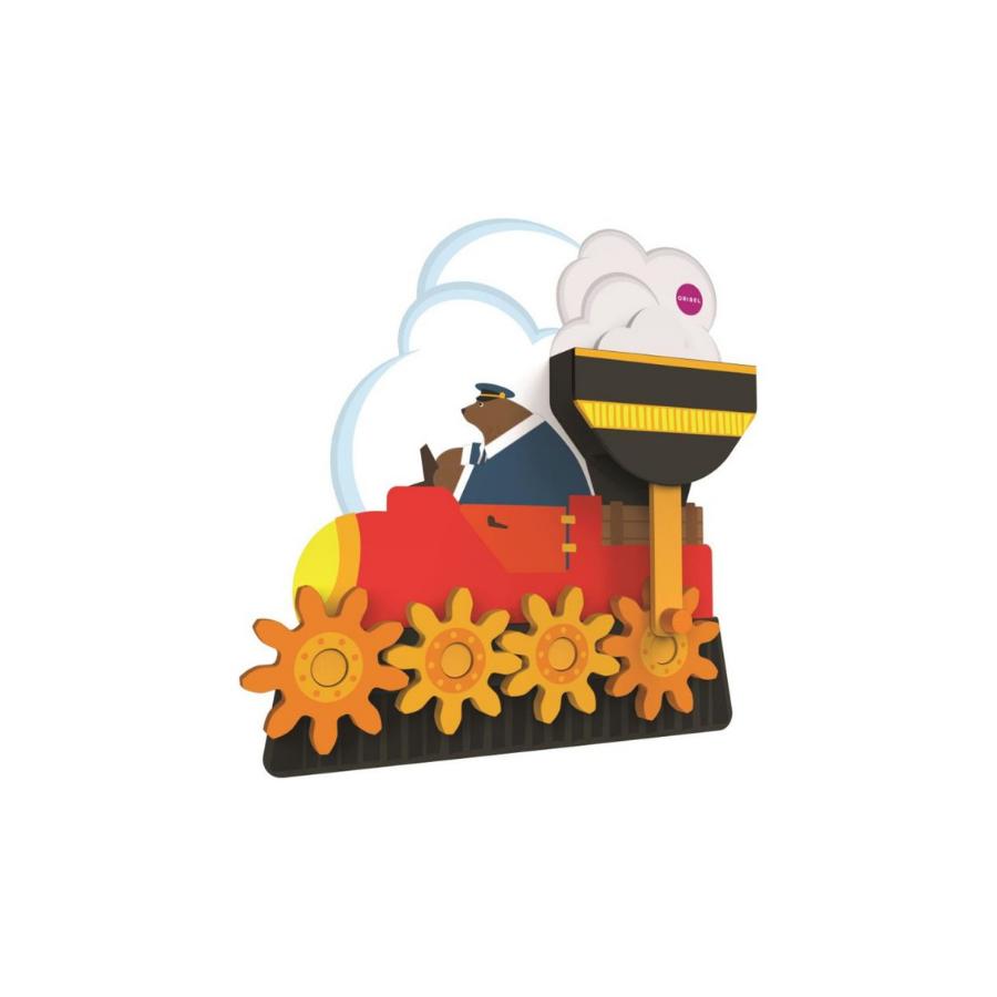 Brinquedo De Parede | Gira E Gira Sr. Urso