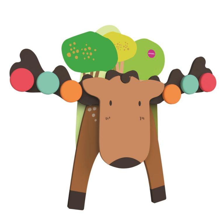 Brinquedo De Parede | Rena Mr. Moose