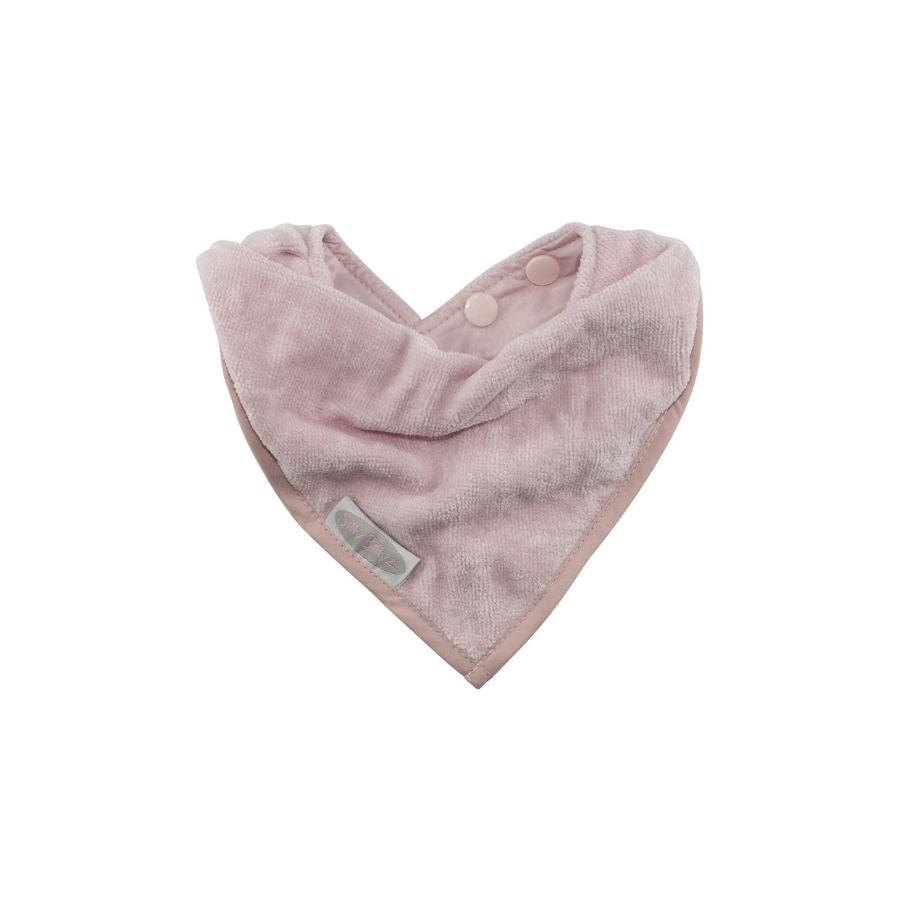 Babete Lenço   Rosa Pastel
