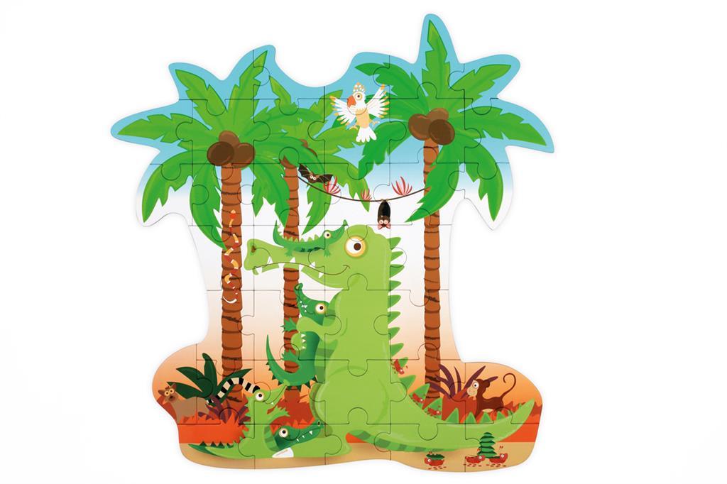Contour Puzzle | Crocodilo