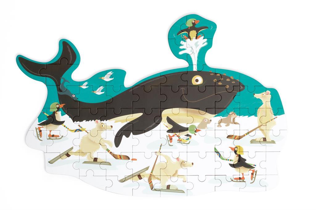 Contour Puzzle | Baleia