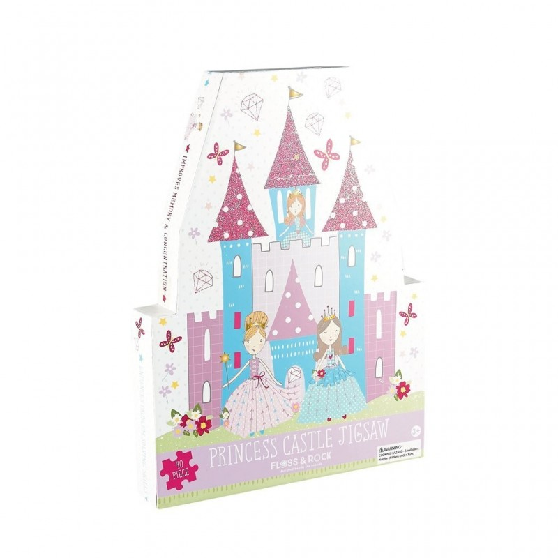 Puzzle | 40 Peças | Princesa