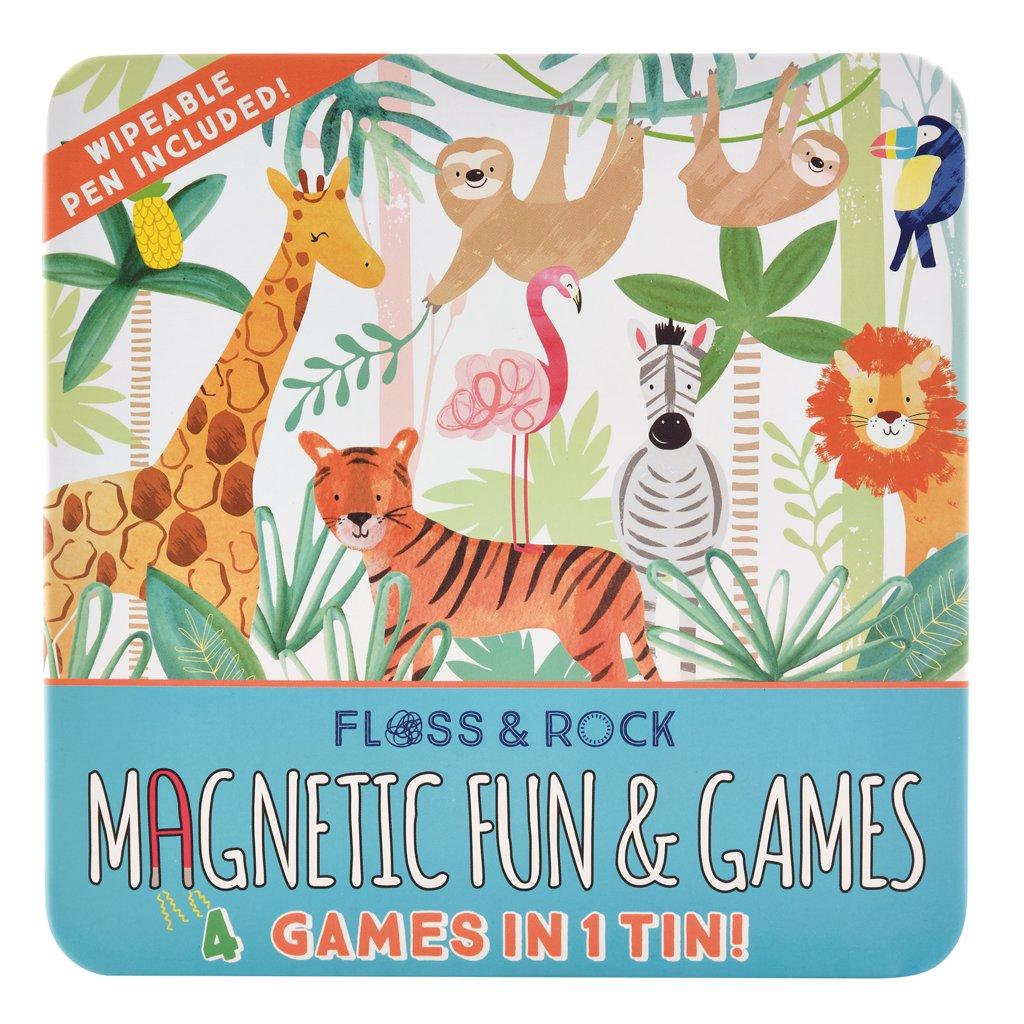 Set 4 Jogos Magnéticos | Selva