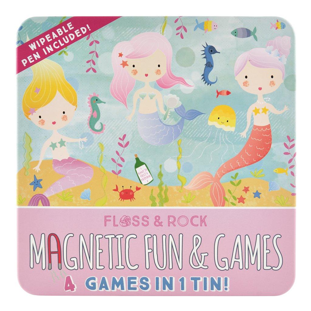 Set 4 Jogos Magnéticos | Sereias
