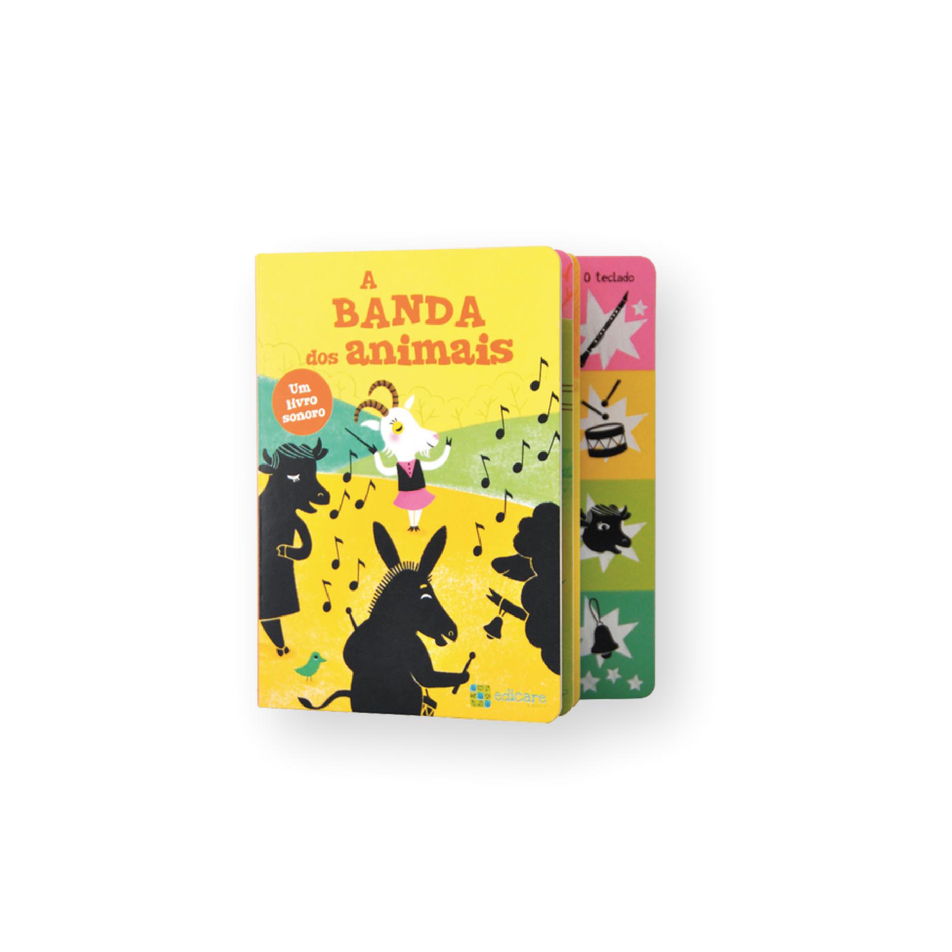 A Banda Dos Animais | Livro Sonoro