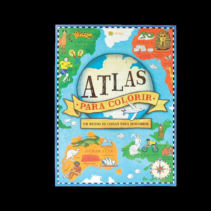 Historia – Atlas Para Colorir