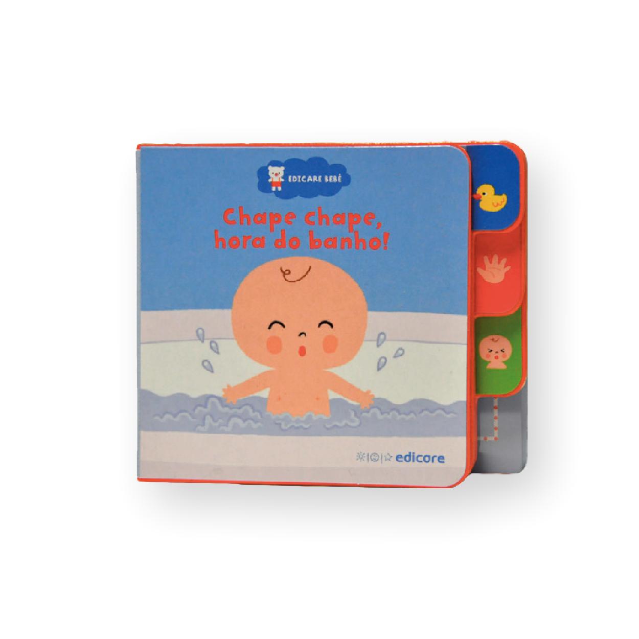 Edicare Bebe | Chape Chape Hora Do Banho