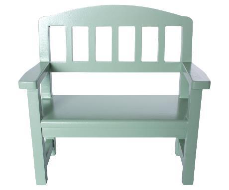 Wood Bench | Mini | Green