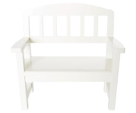 Wood Bench | Mini | Off-White
