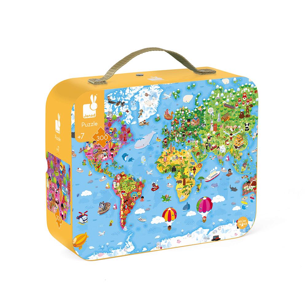 Puzzle | Mapa Mundo | 300 Peças