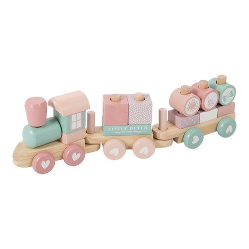 Comboio De Madeira | Rosa
