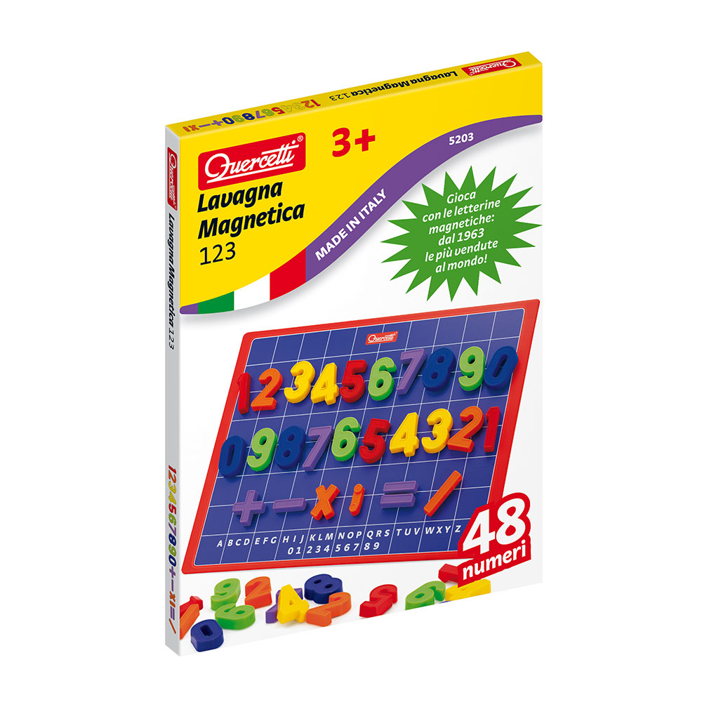 Quadro Magnetico | 123 | 48 Peças