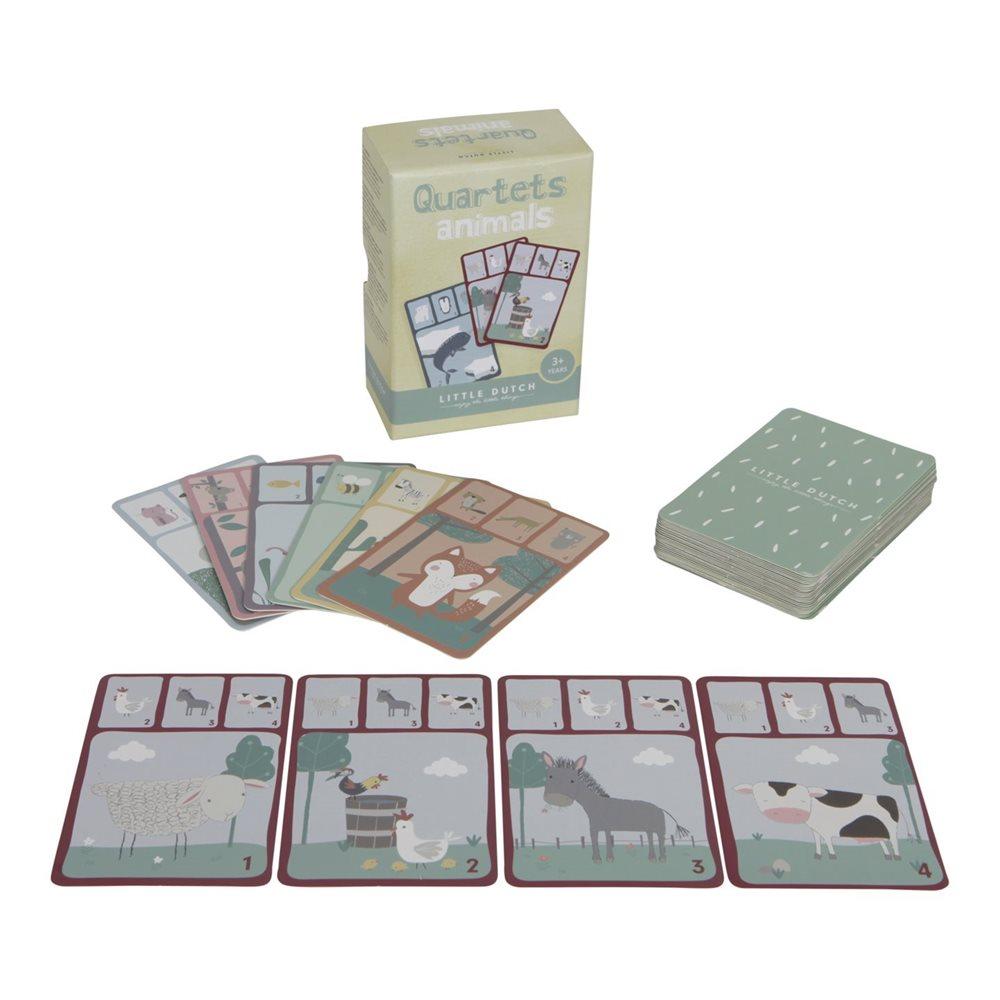 Jogo De Cartas | Quartetos De Animais