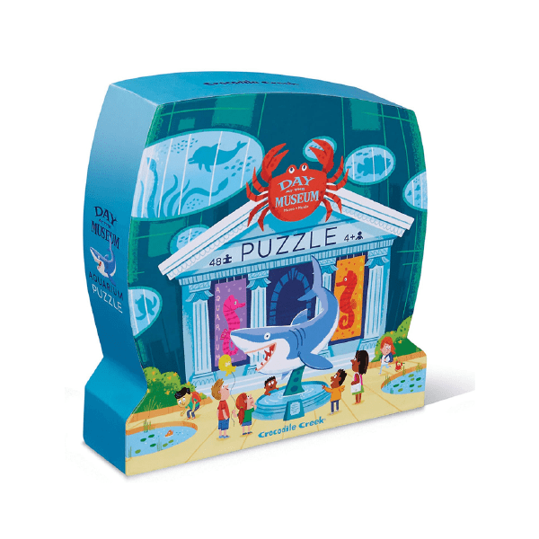 Dia No Museu 48 Peças | Aquarium