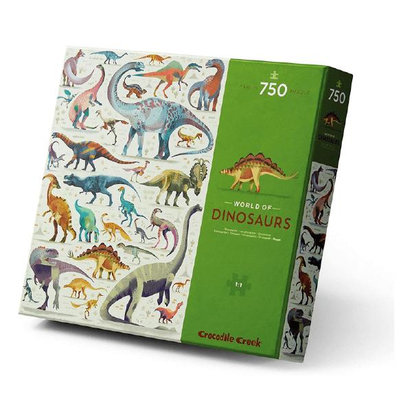 Puzzle 750 Peças | Mundo Dos Dinos