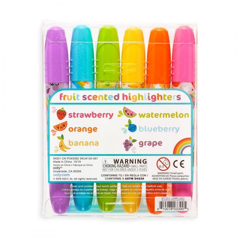4 Canetas Marcador De Gel Lavável Crayola Mighty marcas